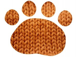 knitted paw