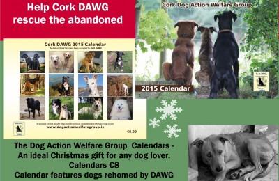 DAWG Calendars 2015 poster